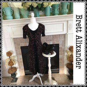 Vintage Brett Alixander dress, size 12